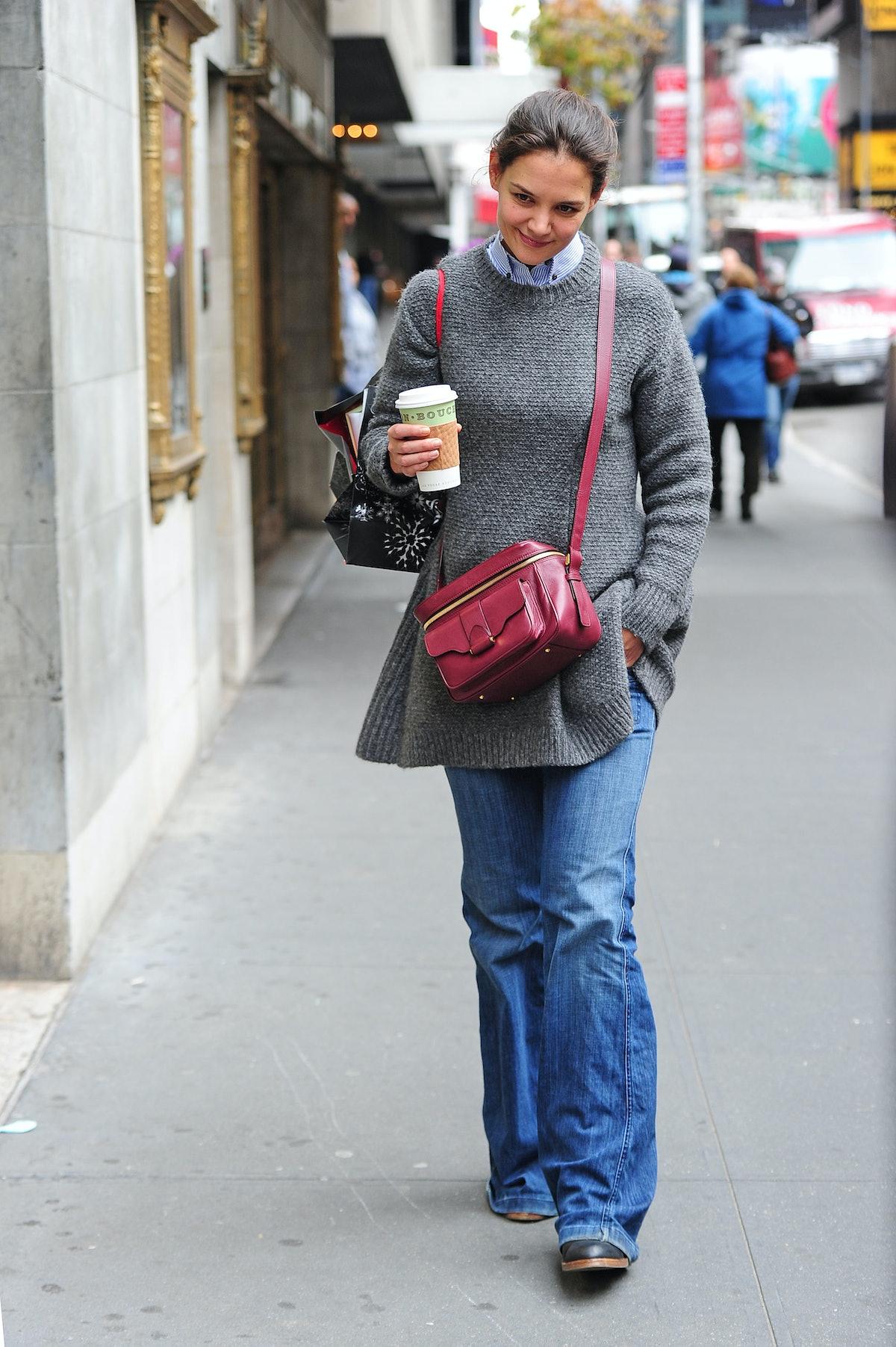 BuzzFoto Celebrity Sightings In New York - November 01, 2012