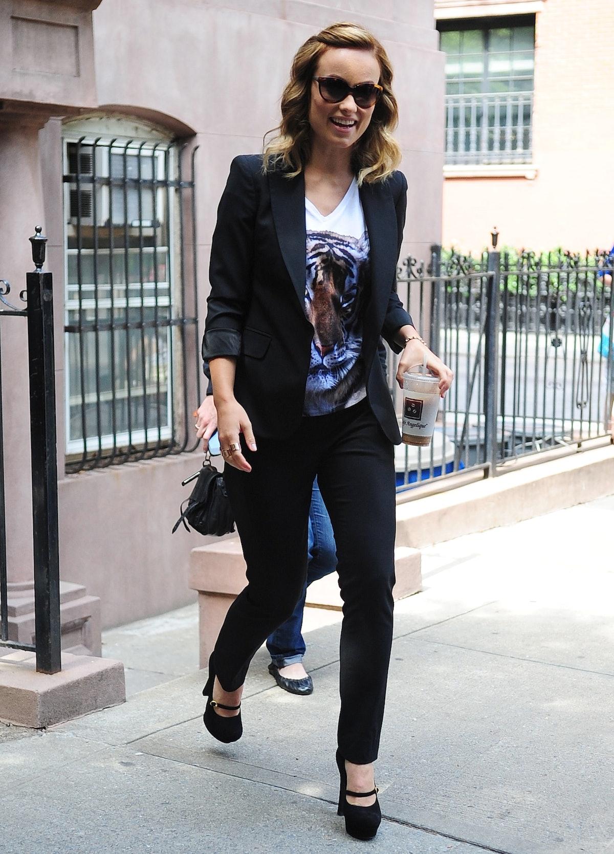 Celebrity Sightings In New York City - June 18, 2012