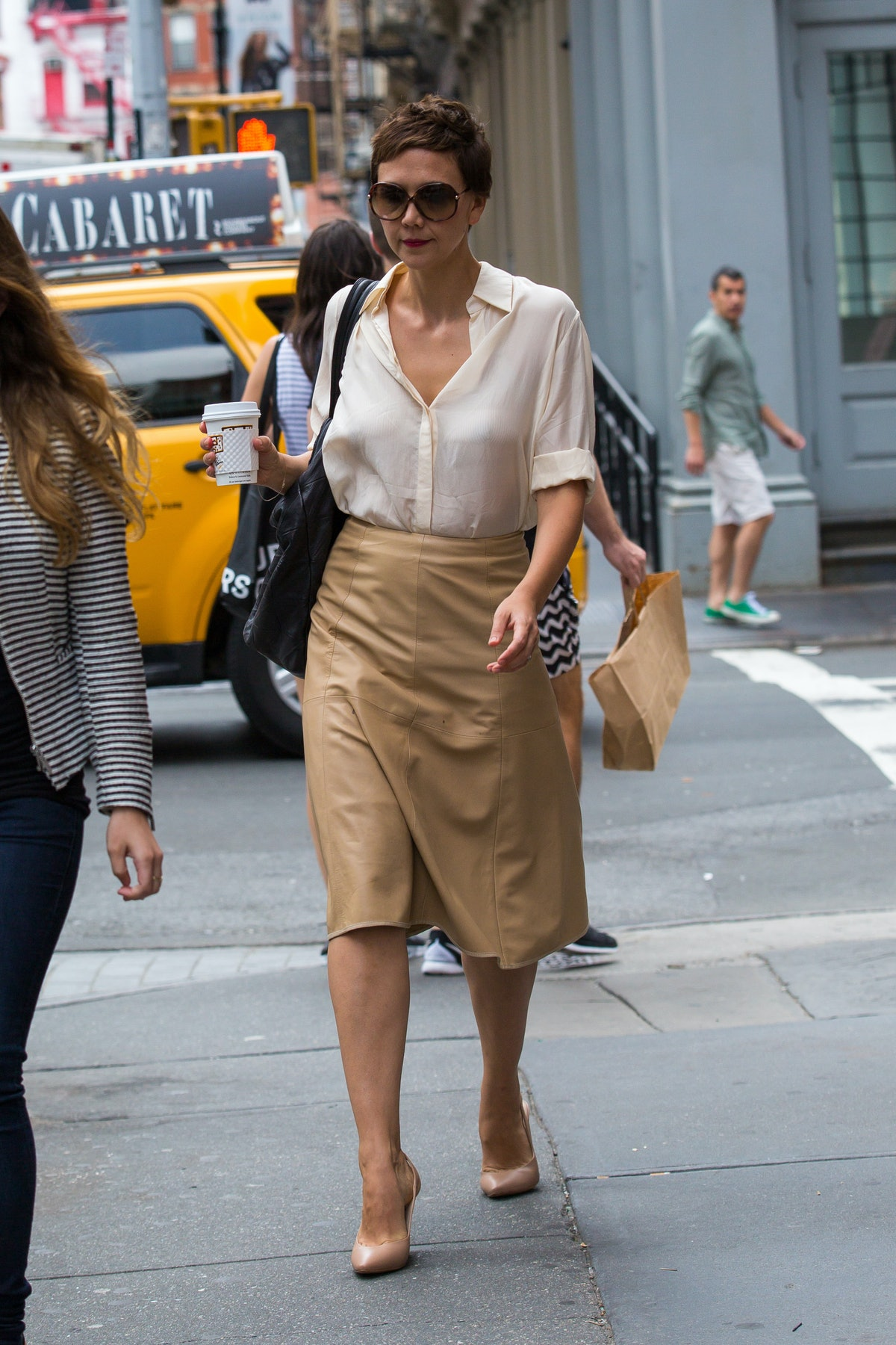 Celebrity Sightings In New York City - July 29, 2014