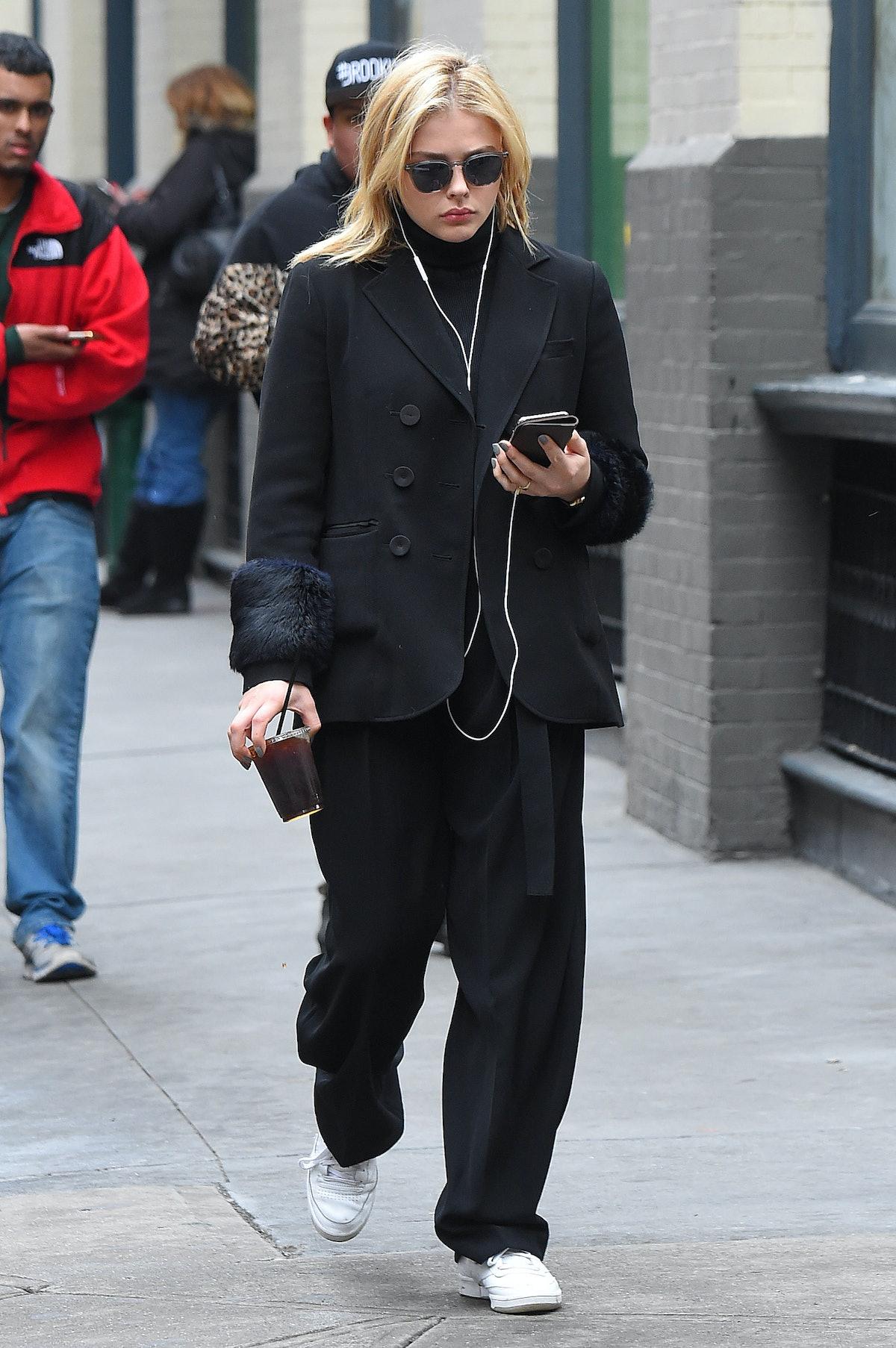 BuzzFoto Celebrity Sightings In New York - April 19, 2018