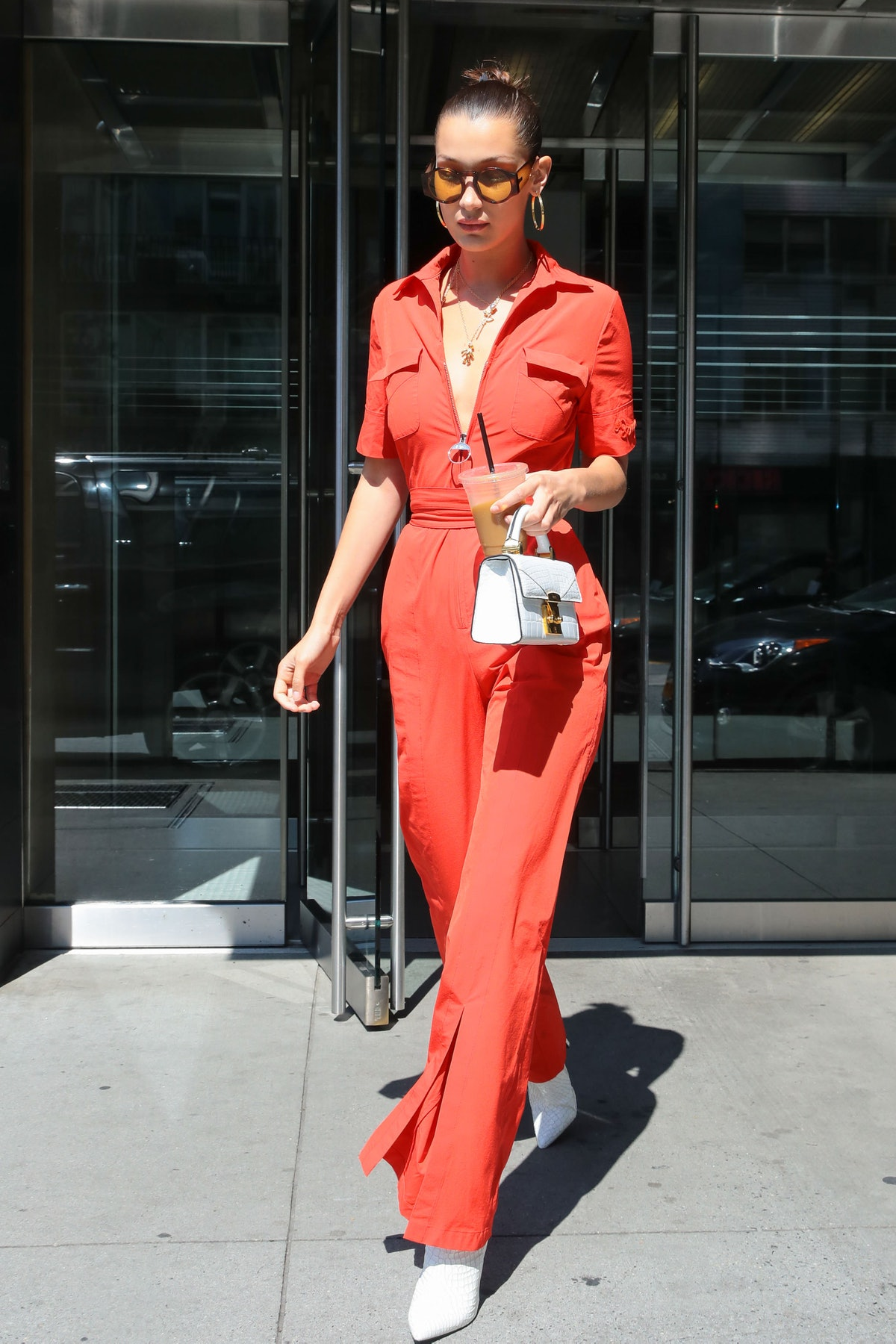 Celebrity Sightings In New York - August 25, 2017