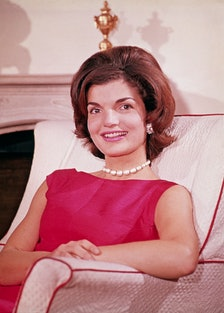 Jacqueline Kennedy at Home