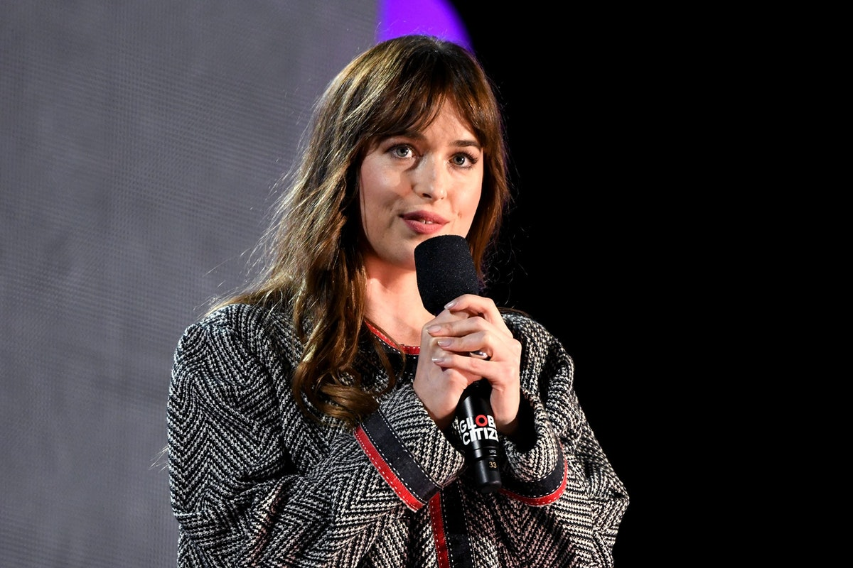 Dakota Johnson Gave Out Her Phone Number at the Global Citizen Festival