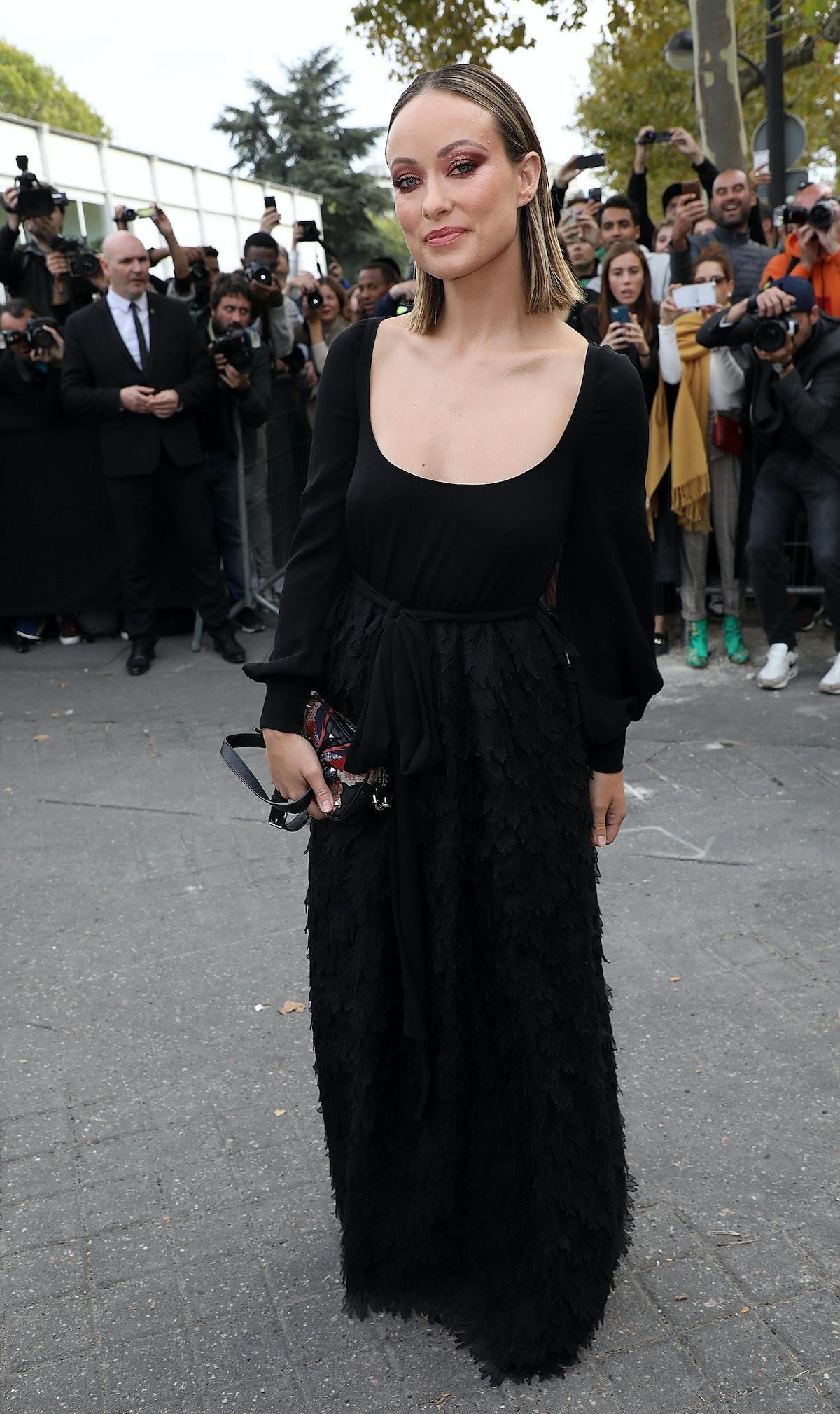 Valentino : Outside Arrivals - Paris Fashion Week Womenswear Spring/Summer 2019