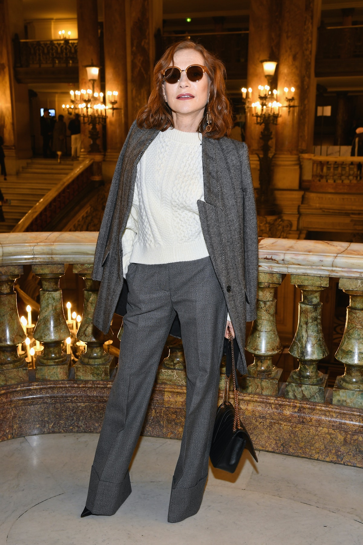 Stella McCartney : Front Row - Paris Fashion Week Womenswear Spring/Summer 2019