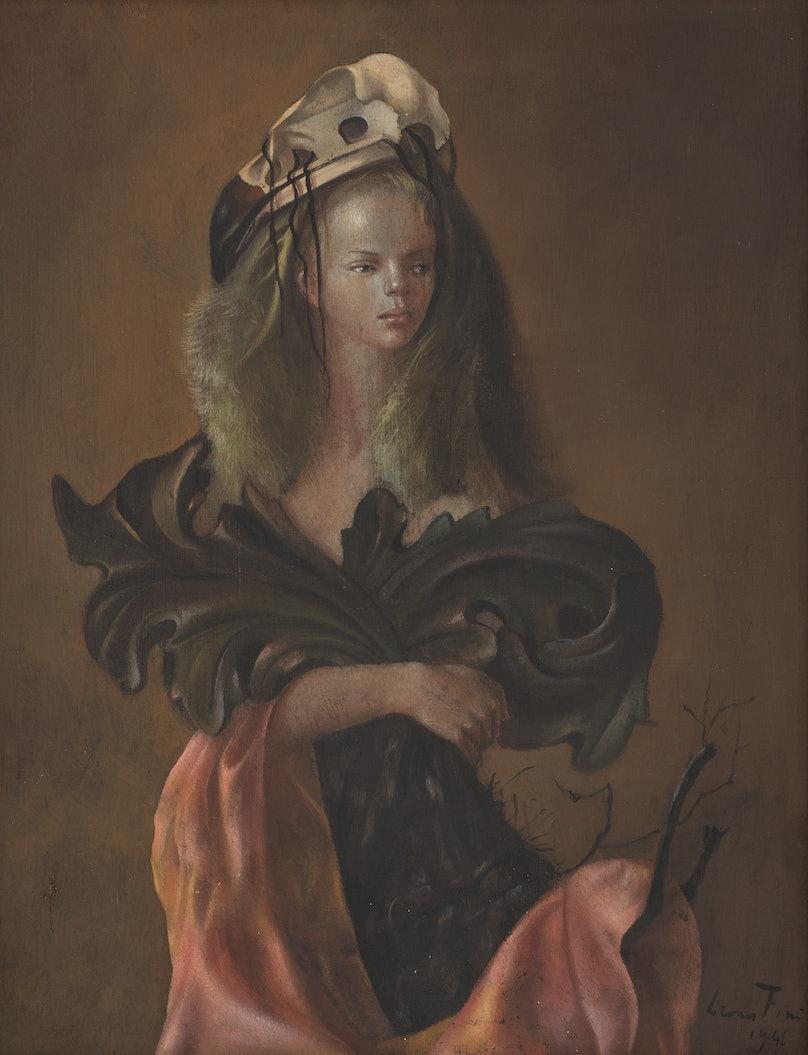 Leonor-Fini_Portrait-de-Femme-aux-Feuilles-D_acanthe_1946_Courtesy-of-Weinstein-Gallery.jpg