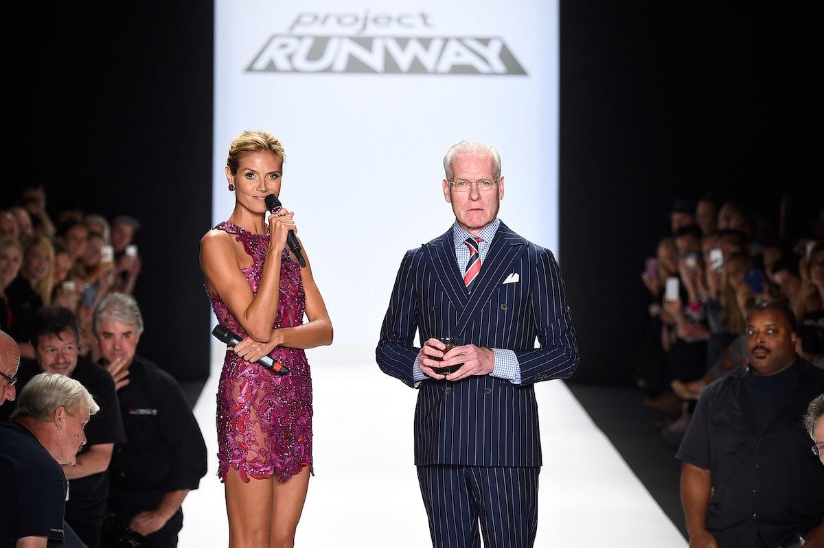 Project Runway - Runway - Mercedes-Benz Fashion Week Spring 2015