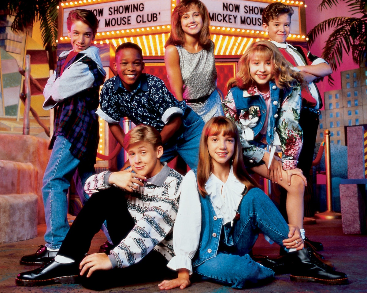 Ryan Gosling Relives 'Mickey Mouse Club' Days with 'Freakishly Talented' Britney Spears and Christin...