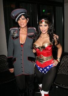 Kim Kardashian's Halloween Party