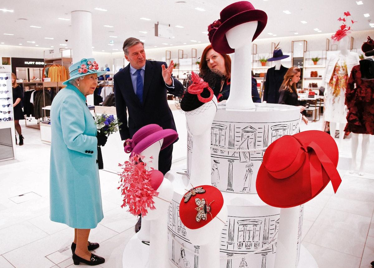 Queen Elizabeth II hats embed
