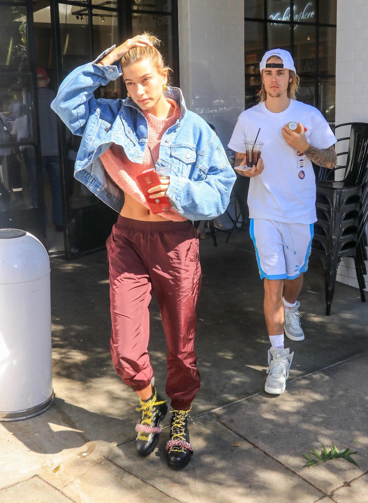 Celebrity Sightings In Los Angeles - October 15, 2018
