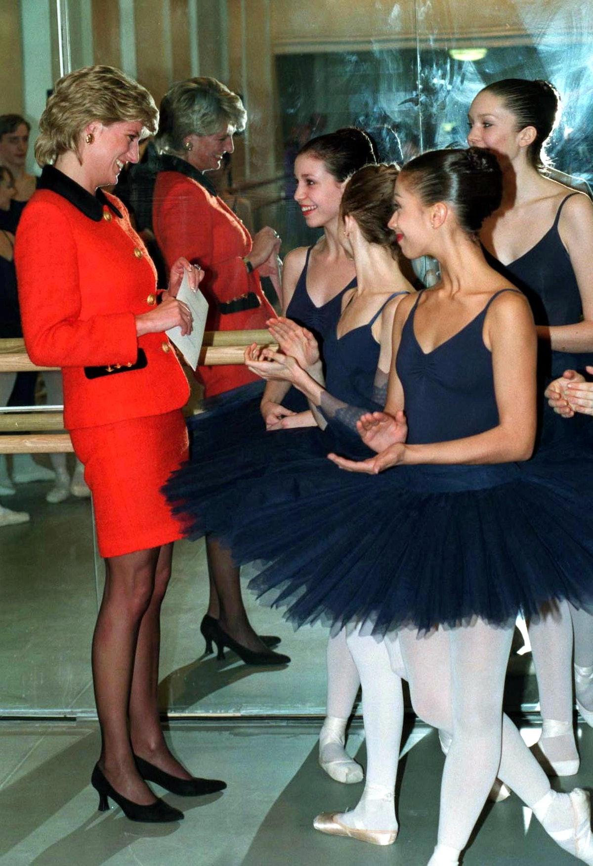 Diana And Ballerinas