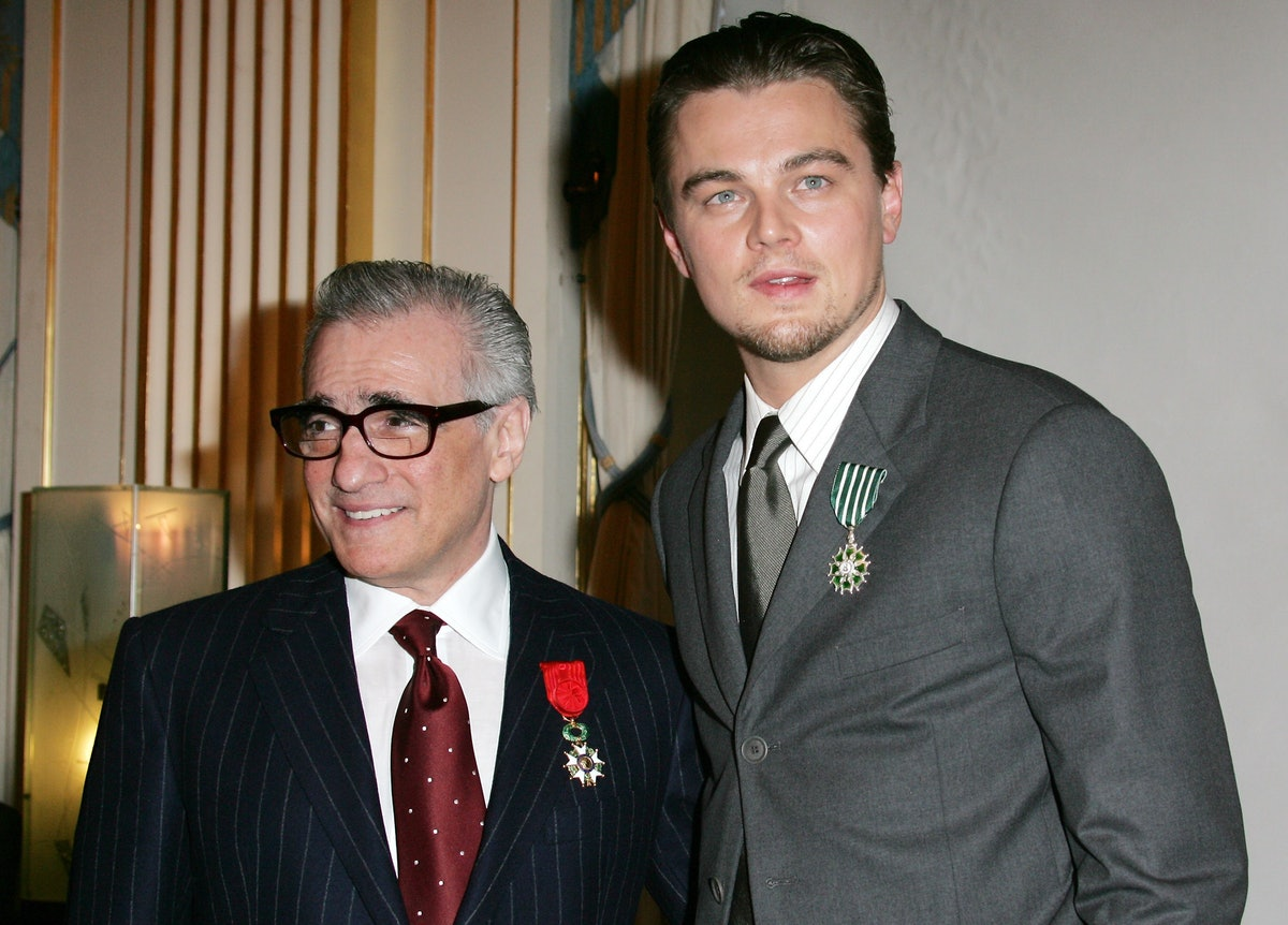 Leonardo DiCaprio Receives the Arts and Letters Medal and Martin Scorsese Receives the Legion d'Honn...