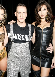 Moschino [tv] H&M Global Event : Backstage