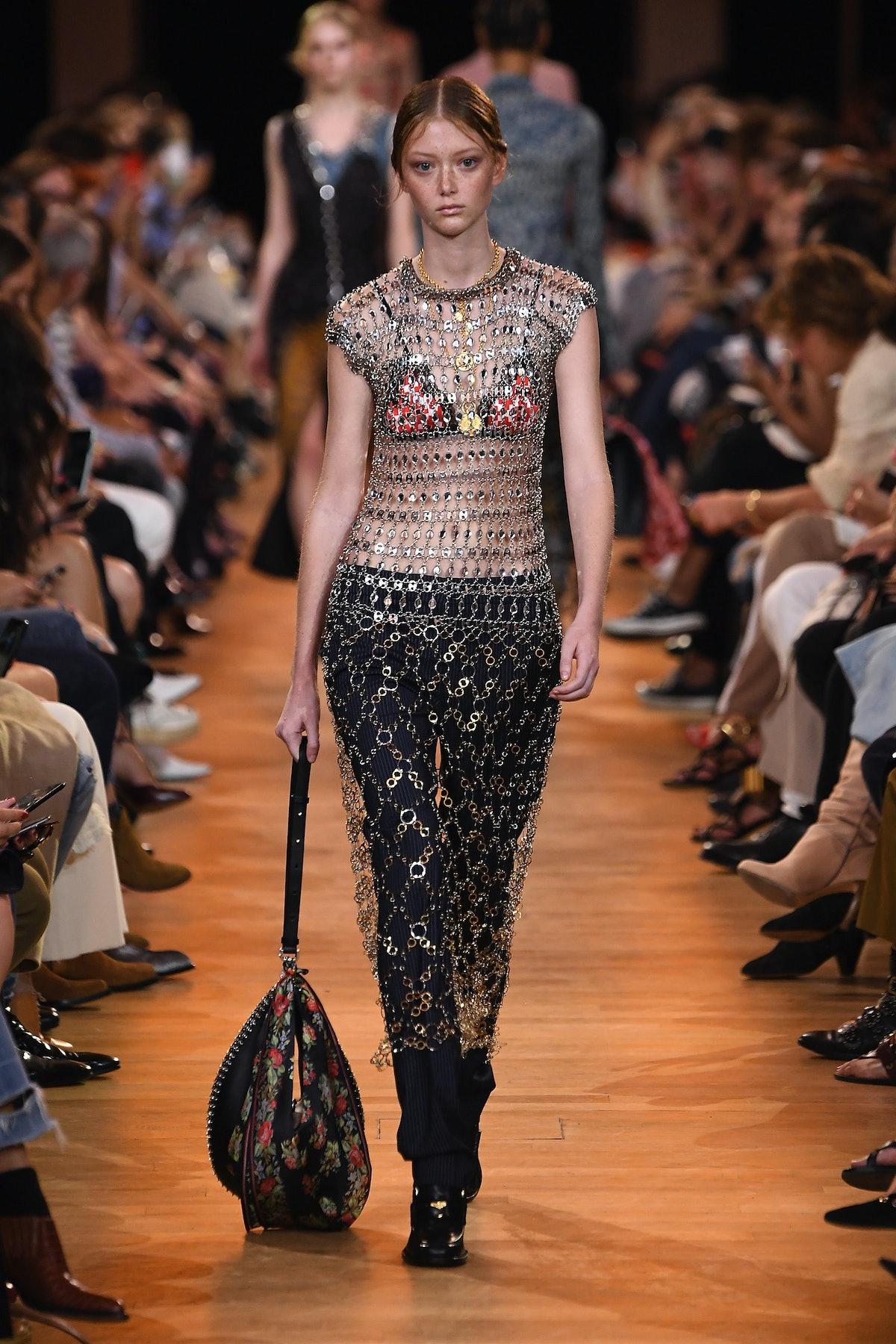 Paco Rabanne: Runway - Paris Fashion Week Womenswear Spring/Summer 2019