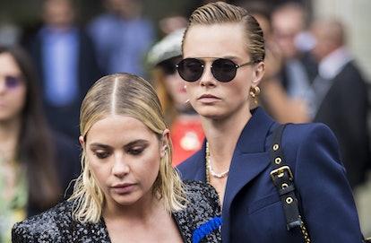 Street Style : Paris Fashion Week Womenswear Spring/Summer 2019 : Day Five
