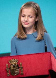 Princess Leonor lead