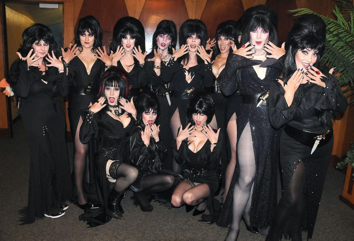 Elvira's Sinema Seance and Look-alike Contest
