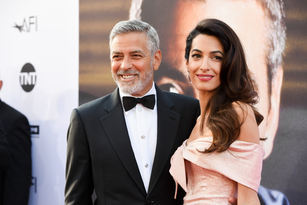 Amal and George Clooney lead