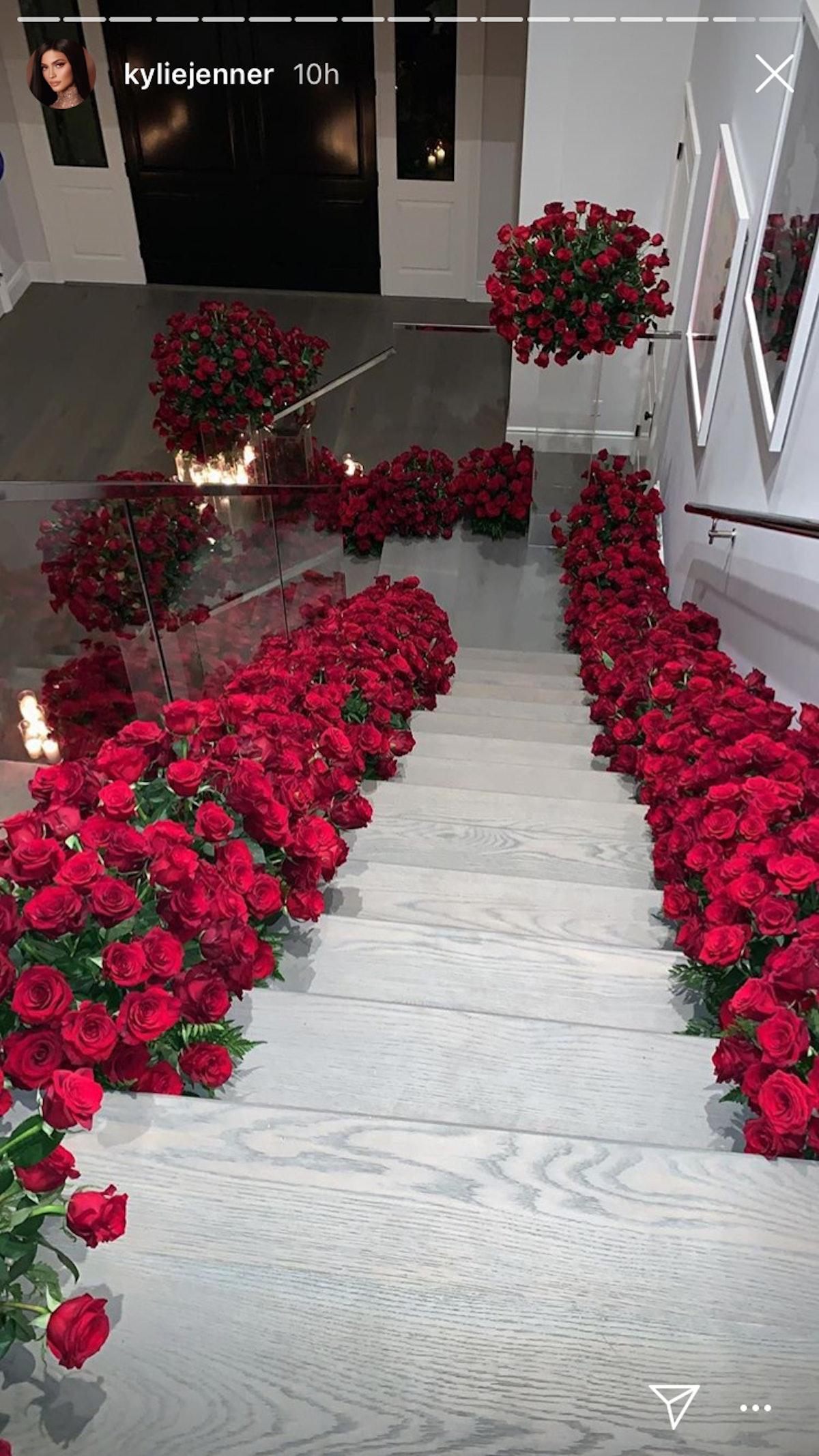 Kylie Jenner roses embed