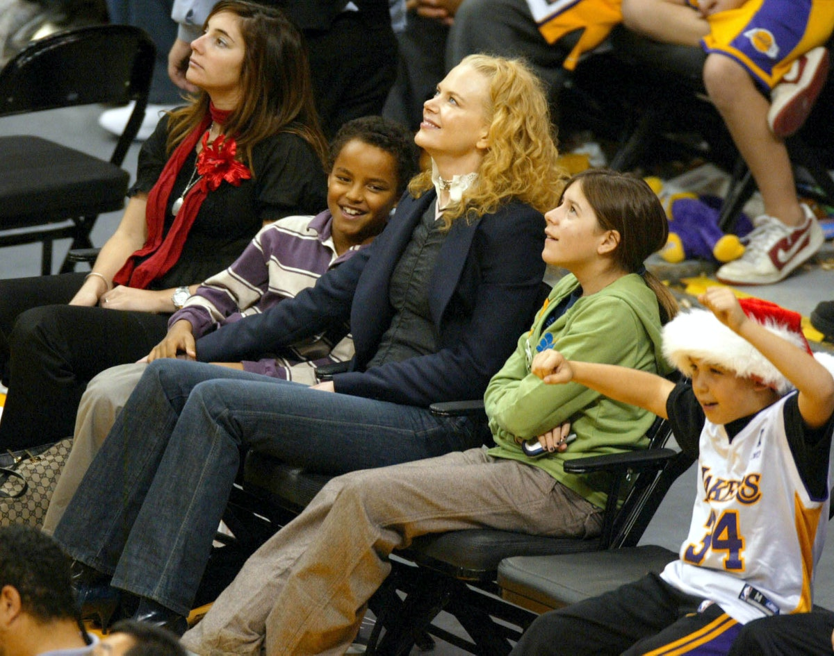 nicole kidman with connor and bella