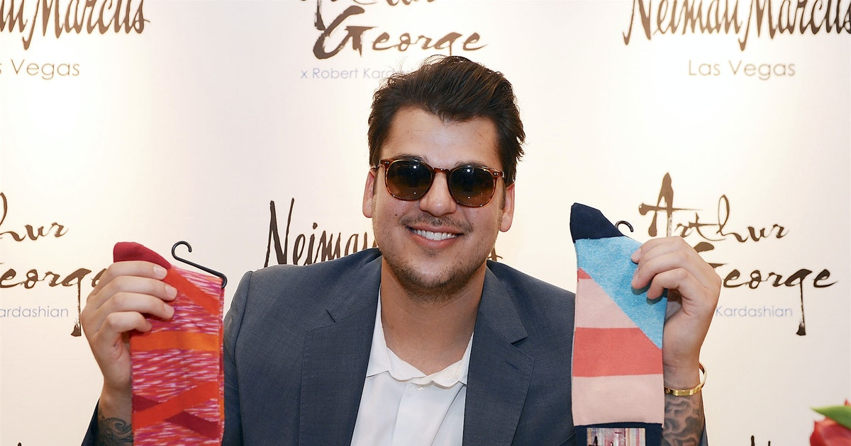 Rob Kardashian Has Lost Full Control of His Sock Company