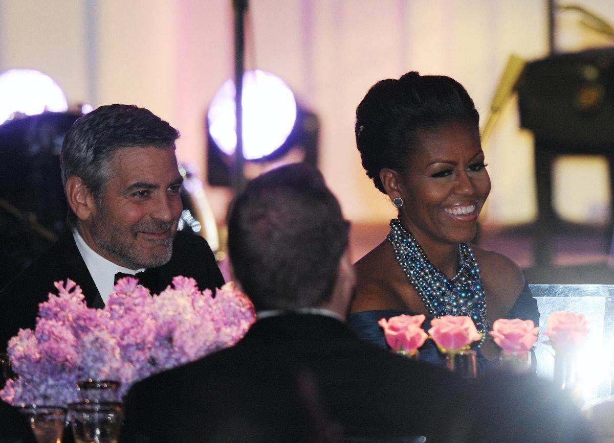 Michelle Obama, George Clooney