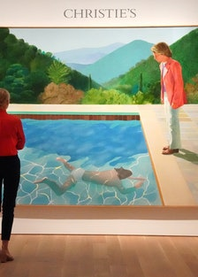 """David Hockney, """"Portrait of an Artist (Pool with Two Figures)"""""""