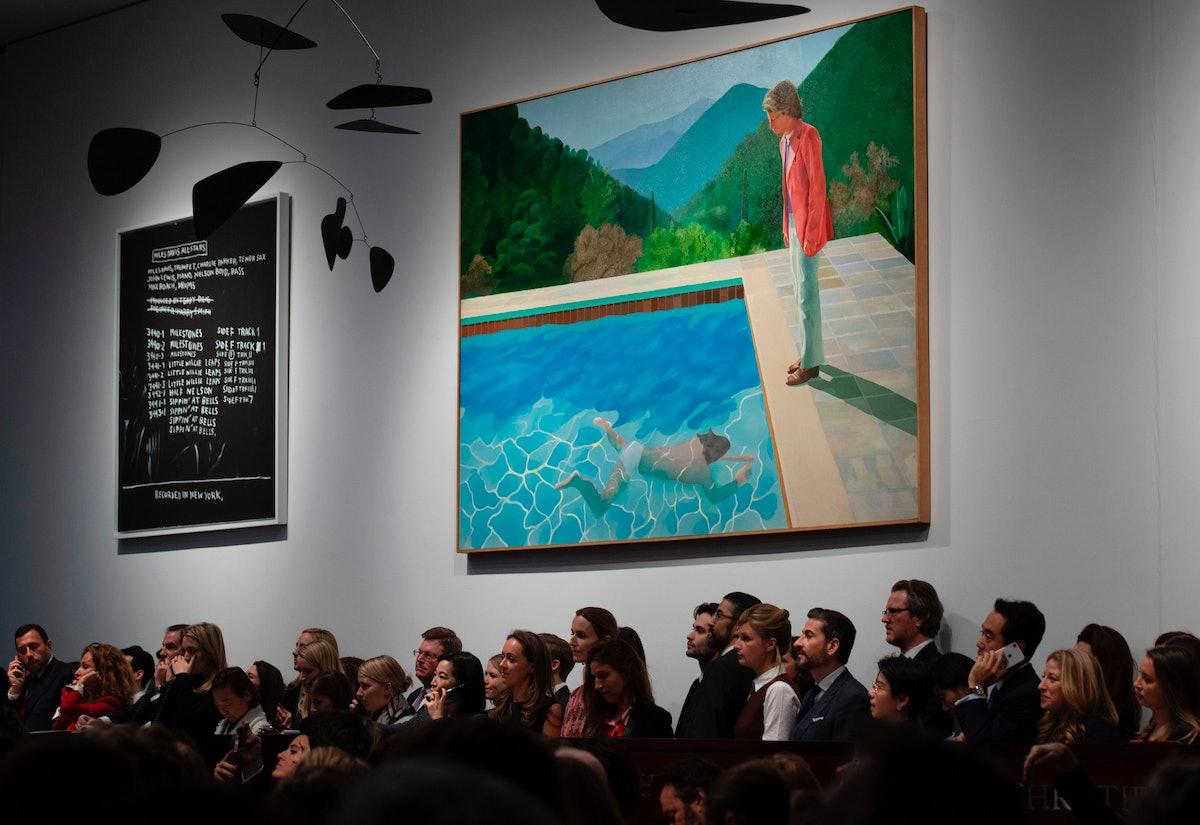 David Hockney auction