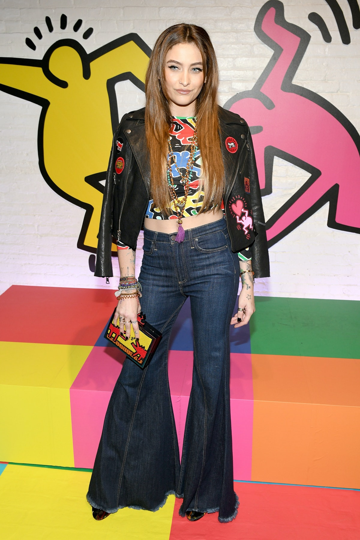 Stacey Bendet And Paris Jackson Celebrate The Launch Of Keith Haring x alice + olivia
