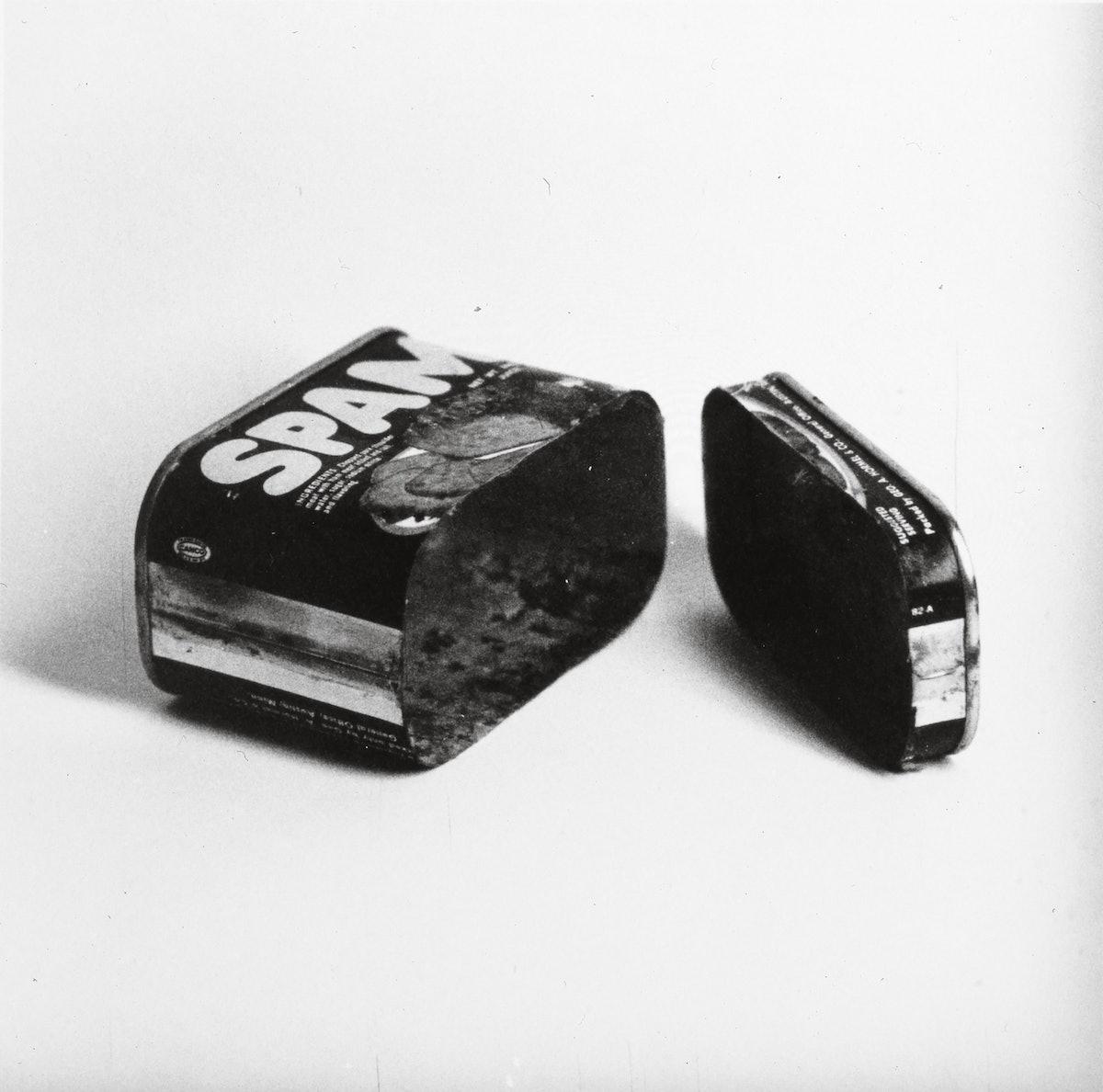 Spam cut in half 1961 C Ed Ruscha.jpg