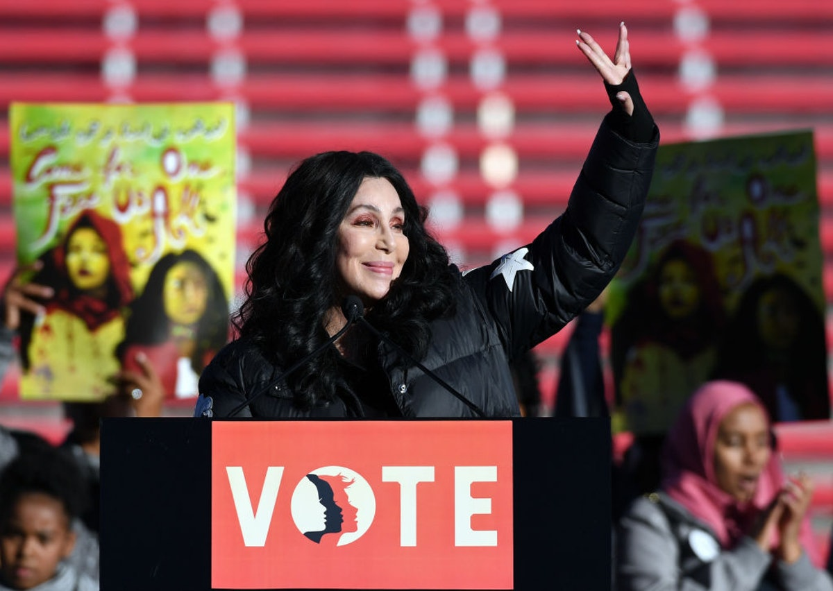 """""""Power To The Polls"""" Voter Registration Tour Launched In Las Vegas On Anniversary Of Women's March"""