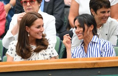 Kate Middleton, Meghan Markle lead