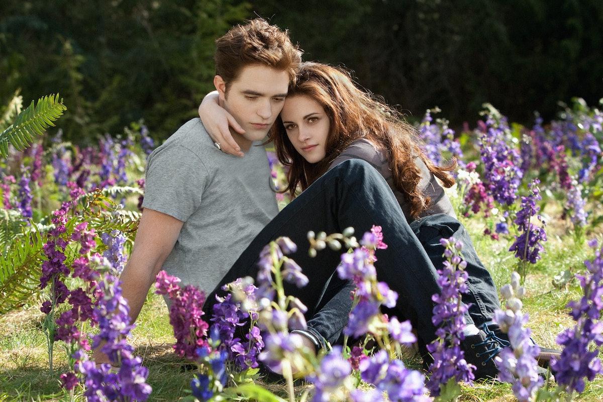 Robert Pattinson, Kristen Stewart in Twilight