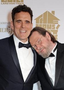 Lars von Trier and Matt Dillon