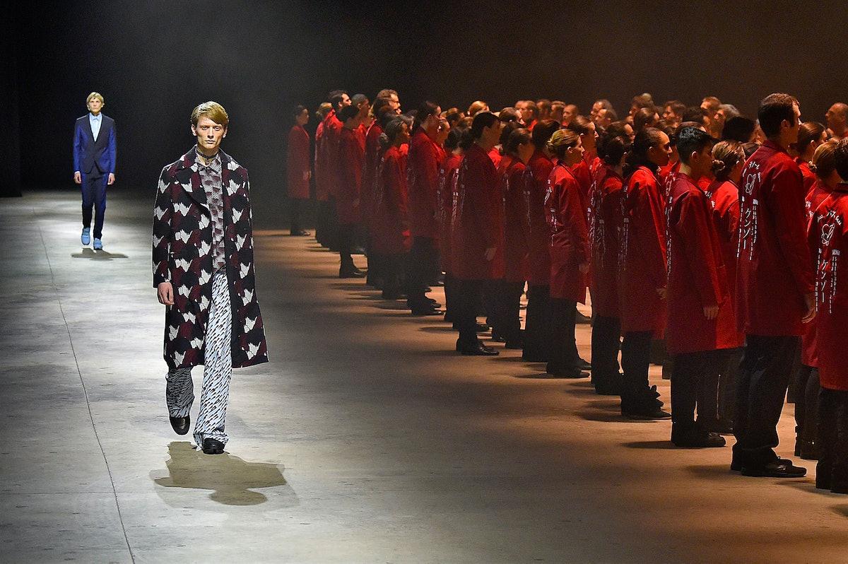 Kenzo : Runway - Paris Fashion Week - Menswear F/W 2016-2017
