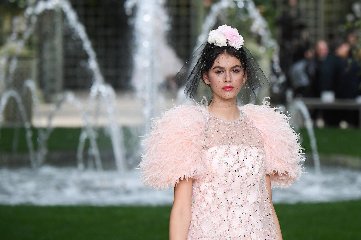 Kaia Gerber - Chanel Spring/Summer 2018