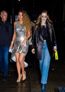 Blake Lively and Gigi Hadid