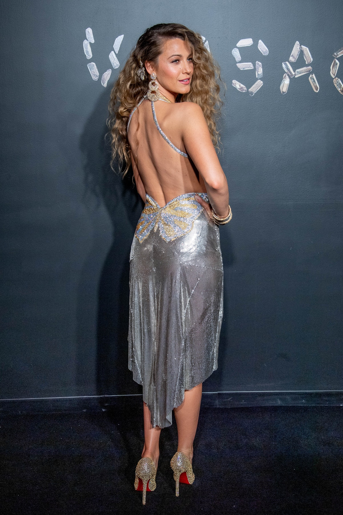 Blake Lively - Versace (back)