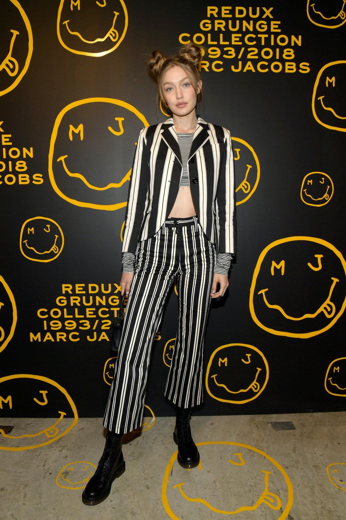 Gigi Hadid at Marc Jacobs