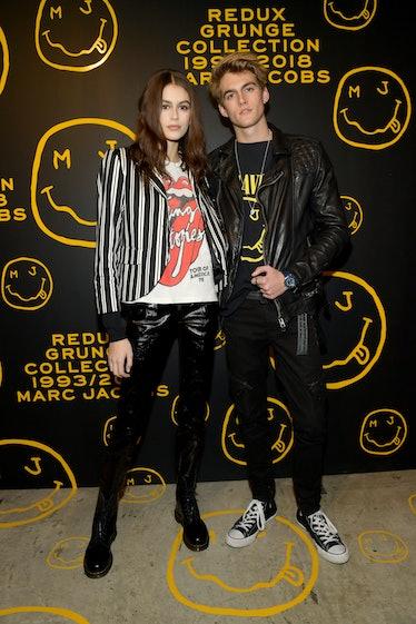 Kaia Gerber, Presley Gerber in Marc Jacobs Grunge