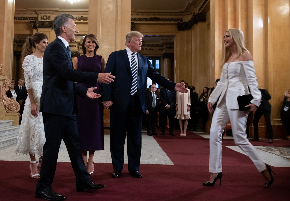 Ivanka Trump in Gabriela Hearst