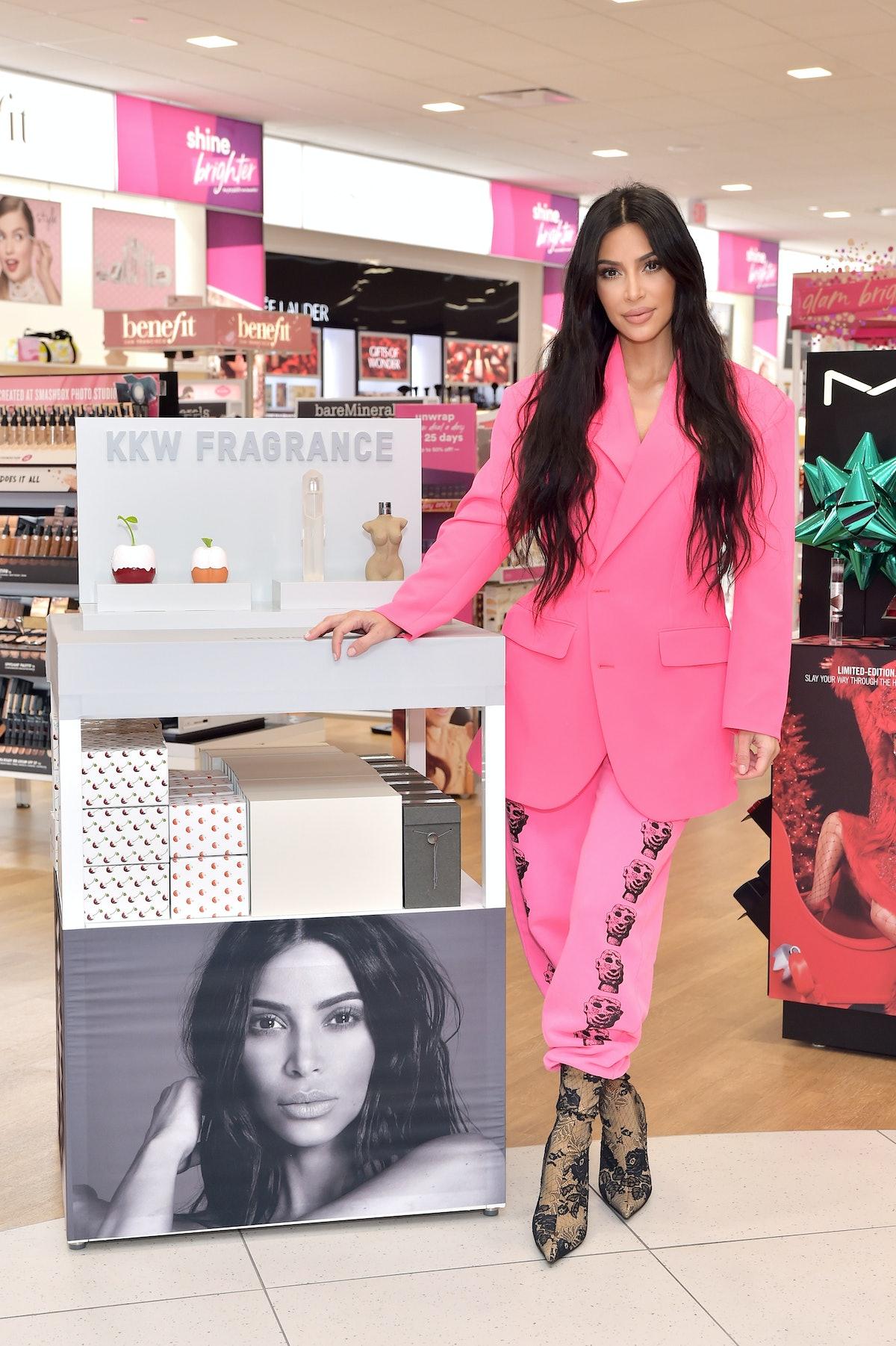 Kim Kardashian sweatpants