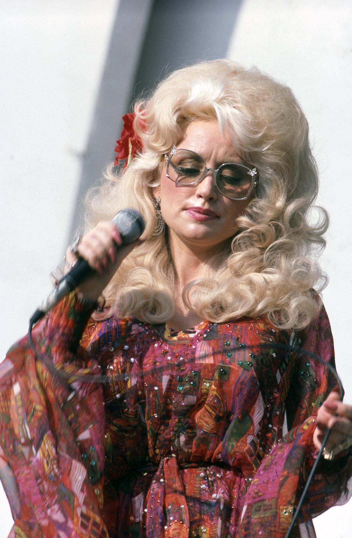 Dolly Parton In Detroit