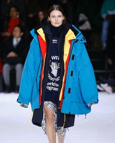 Balenciaga : Runway - Paris Fashion Week Womenswear Fall/Winter 2018/2019