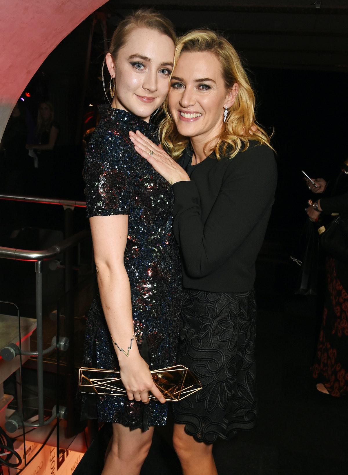 Saoirse Ronan and Kate Winslet