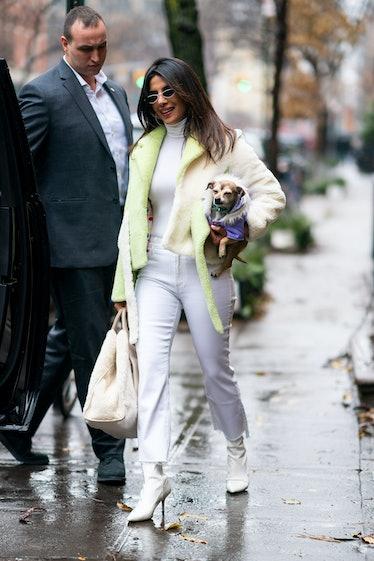 Celebrity Sightings in New York City - December 16, 2018