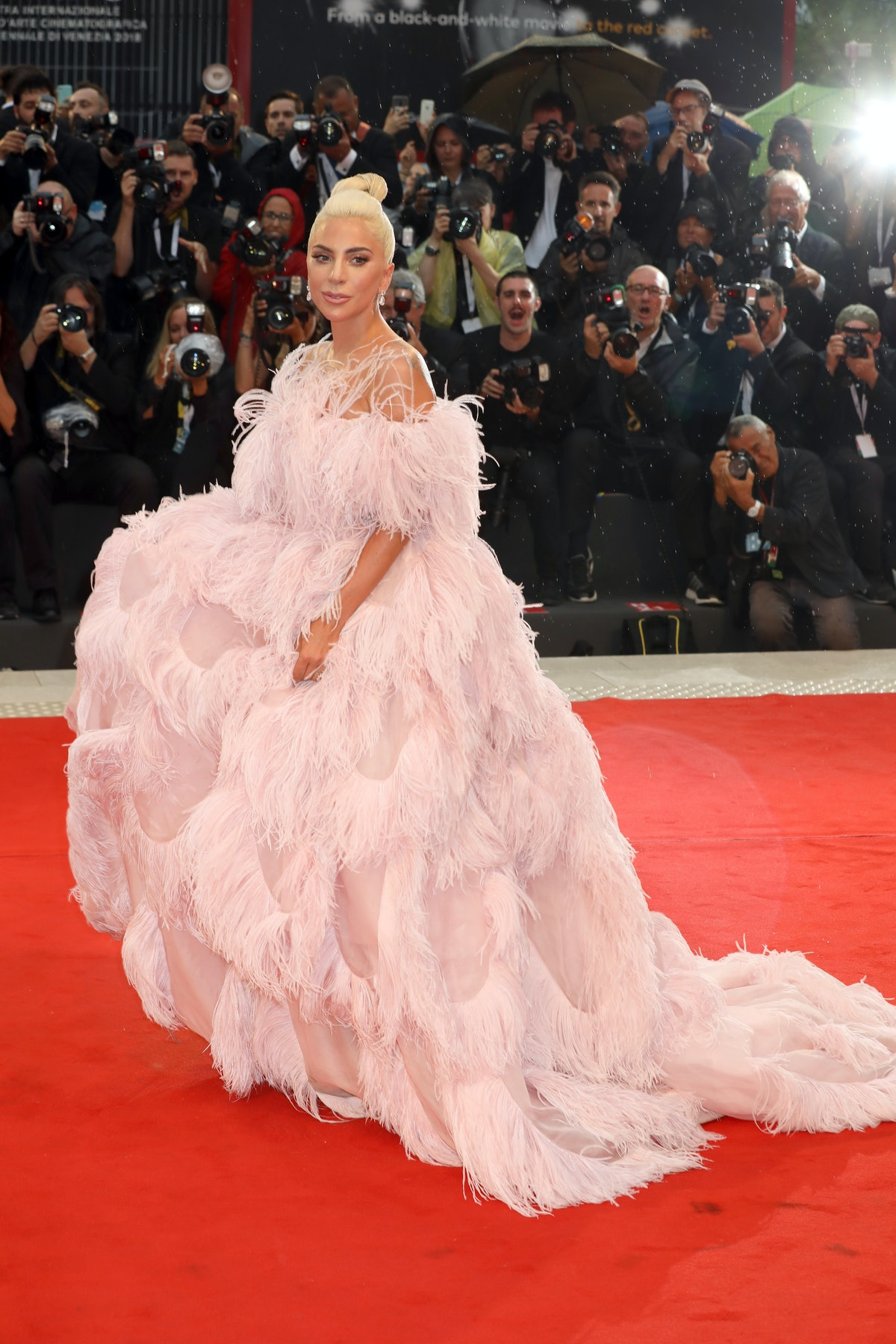 A Star Is Born Red Carpet Arrivals - 75th Venice Film Festival