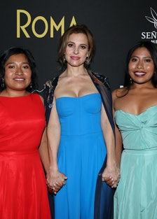 Roma stars Nancy Garcia, Marina de Tavira, and Yalitza Aparicio