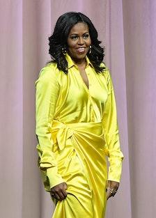 Michelle Obama in Balenciaga